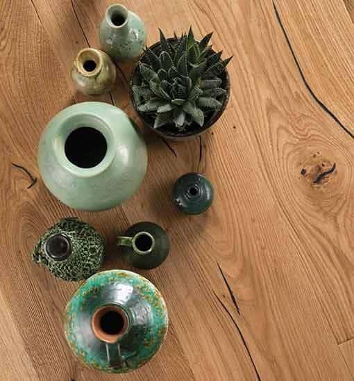 Boen Handcrafted Oak Epoca Deep Brushed Live Natural Oil 209mm