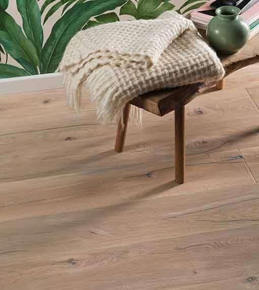 Boen Handcrafted Oak Vintage White Deep Brushed Live Natural Oil 209mm