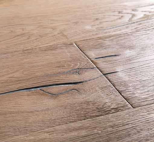 Hardwood Flooring Suppliers Michigan: Boen Handcrafted Oak Vintage White Deep Brushed Live
