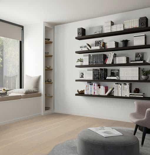 Boen Plank Oak Warm Cotton Live Pure Lacquer 209mm Flooring