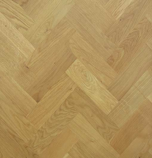 Solid Oak Wood Block Flooring Prime Grade