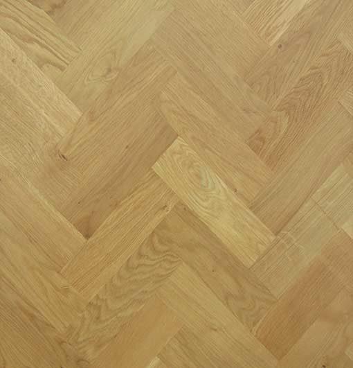 Solid Oak Wood Block Flooring Prime Grade