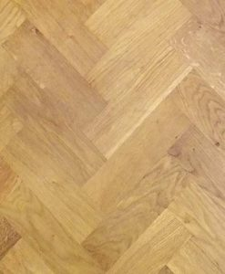 Solid Oak Wood Block Flooring Rustic Grade