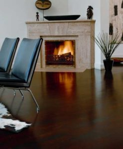 Junckers 2-Strip Beech Dark Coco Flooring