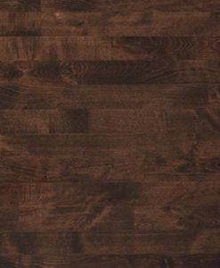 Junckers 2-Strip Beech Dark Coco Flooring overhead
