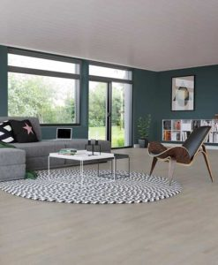 Junckers 2-Strip Beech Oyster Grey Flooring