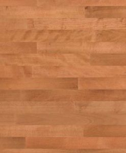 Junckers 2-Strip Beech Sylvared Flooring overhead