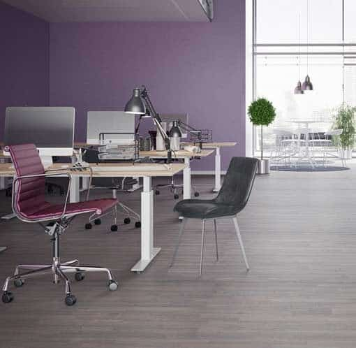 Junckers 2-Strip Beech Twilight Grey Flooring
