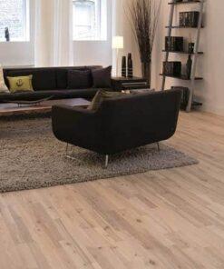 Junckers 2-Strip Nordic Ash Flooring