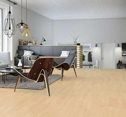 Junckers 2-Strip Nordic Beech Flooring