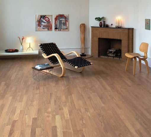 Junckers 2-Strip Nordic Oak Flooring