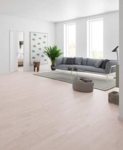 Junckers 2-Strip White Beech Flooring