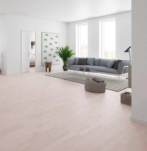 Junckers 2-Strip White Beech Flooring