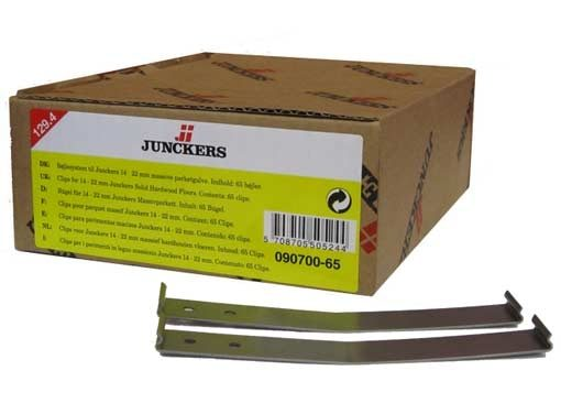 Junckers Clips 129.4mm (Yellow) 65 pack