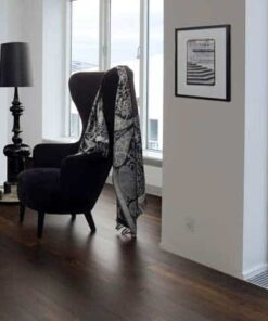Junckers Plank Black Oak Flooring dark