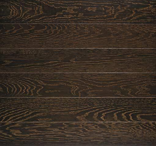 Junckers Plank Dark Coco Textured Oak Flooring