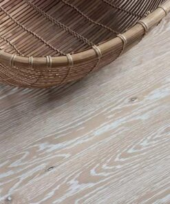 Junckers Plank Frosted White Textured Oak Flooring