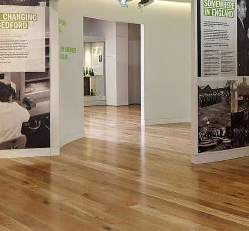 Junckers Plank Oak Flooring museum