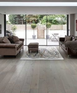 Junckers Plank Silver Pearl Oak Flooring