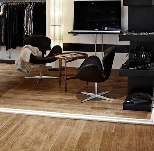 Junckers Plank Textured Oak Flooring
