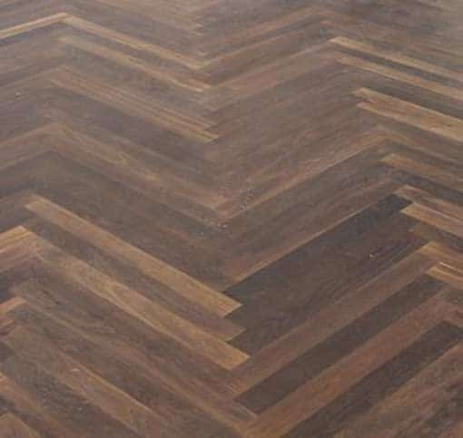 22mm junckers single stave black oak parquet flooring 467 for Parquet junckers