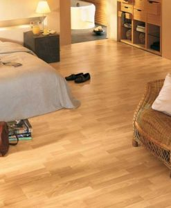 Quick-Step Classic Enhanced Beech 3 Strip Laminate Flooring
