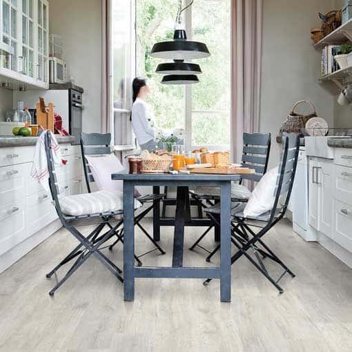 Quick Step Classic Reclaimed White Patina Oak Laminate Flooring