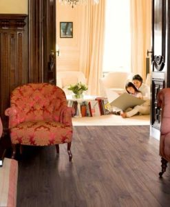 Quick-Step Classic Midnight Oak Brown Laminate Flooring