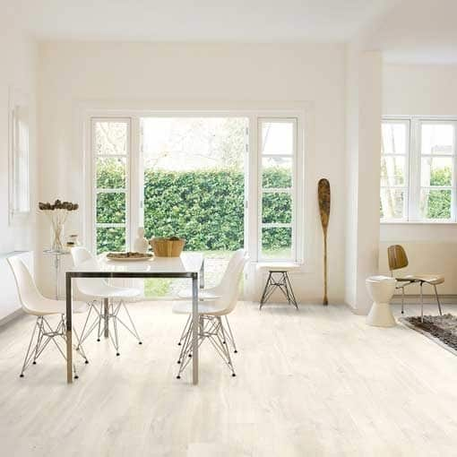 Quick-Step Creo Charlotte Oak White Laminate Flooring