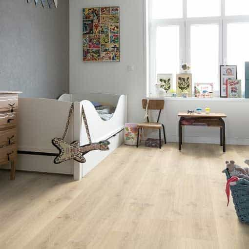 Quick-Step Creo Tennessee Oak Light Wood Laminate Flooring