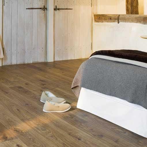 Quick Step Elite White Oak Medium Laminate Flooring Wood Flooring