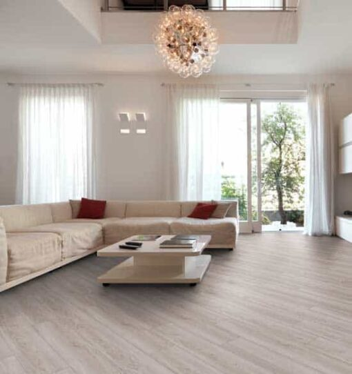 Luvanto Pearl Oak Click Vinyl Flooring