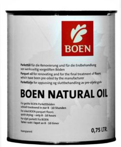 Boen Natural Oil Transparent Matt 0.75 Litres
