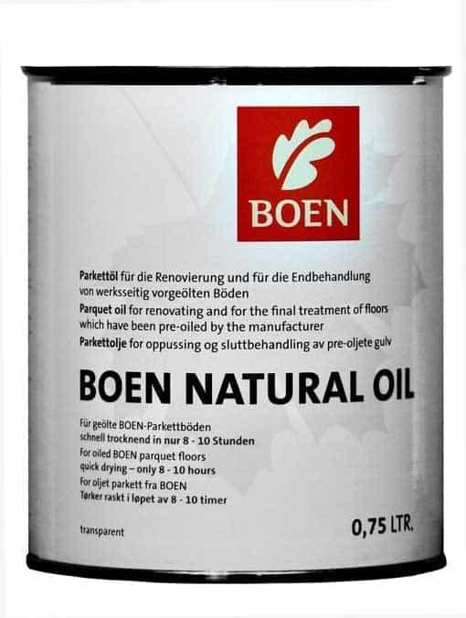 Boen Natural Oil Transparent Matt 0.75 Litres