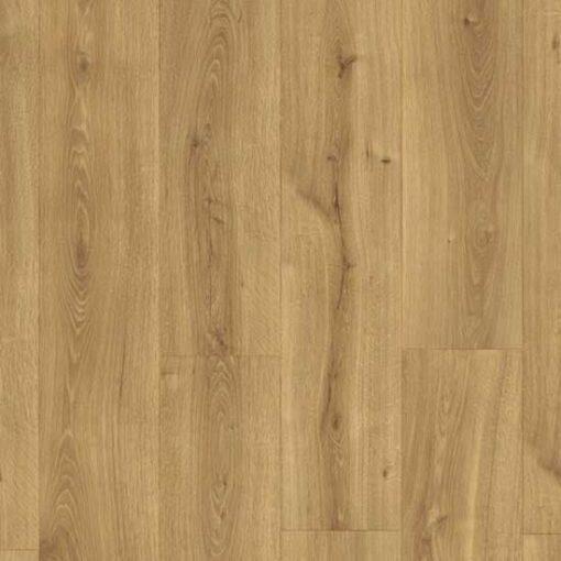 Overhead View Quick-Step Majestic Desert Oak Warm Natural Laminate Flooring MJ3551