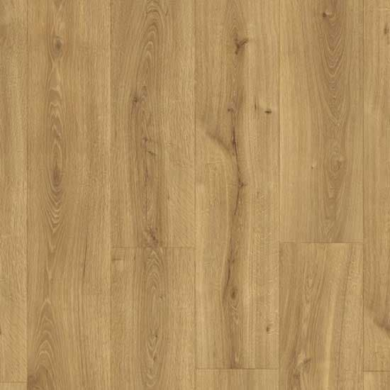 Overhead View Quick-Step Majestic Desert Oak Warm Natural Laminate Flooring MJ3551