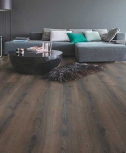 Quick-Step Majestic Desert Oak Brushed Dark Brown Laminate Flooring MJ3553