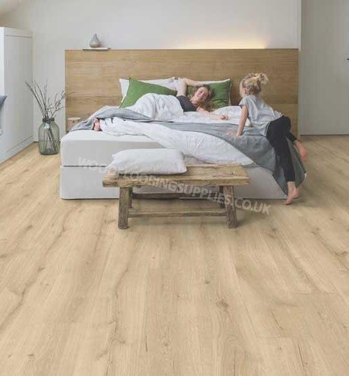 Quick step majestic desert oak light natural laminate for Oak laminate flooring