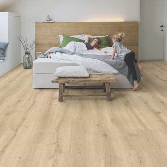 Quick Step Majestic Desert Oak Light, Natural Laminate Flooring