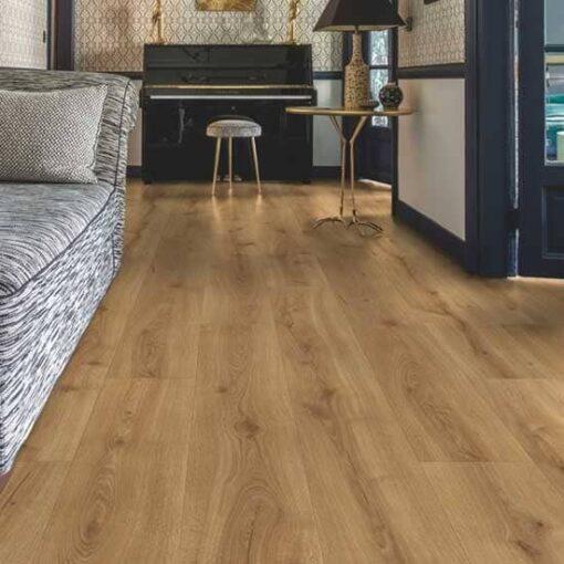 Quick-Step Majestic Desert Oak Warm Natural Laminate Flooring MJ3551