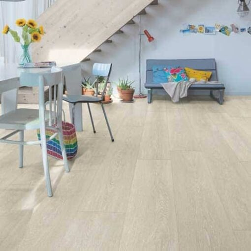 Quick-Step Majestic Valley Oak Light Beige Laminate Flooring MJ3554