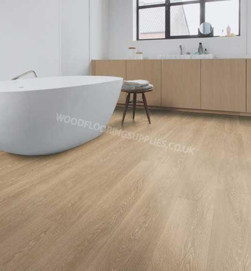 Quick step majestic valley oak light brown laminate for Oak laminate flooring