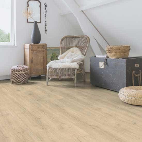 Quick Step Majestic Woodland Oak Beige Laminate Flooring Mj3545