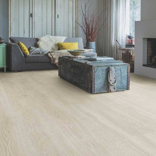 Quick-Step Majestic Woodland Oak Light Grey Laminate Flooring MJ3547 ...