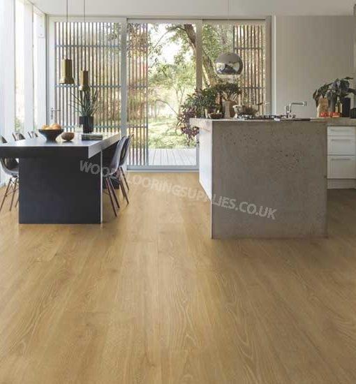 Quick step majestic woodland oak natural laminate flooring for Oak laminate flooring