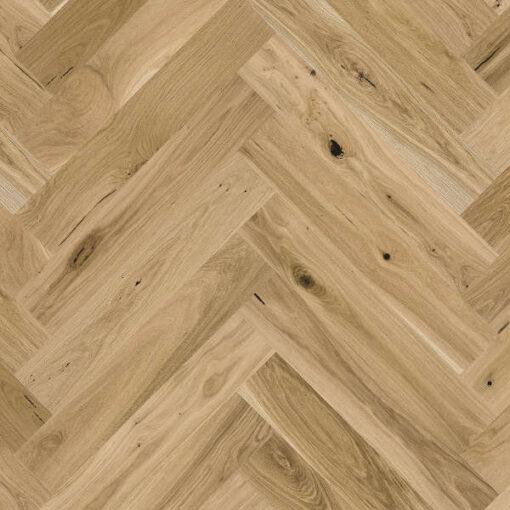 Holt Bradley Click Herringbone Engineered Oak Flooring Brushed & Oiled