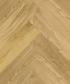 Click Herringbone Engineered Prime Oak Flooring Brushed & Matt Lacquer