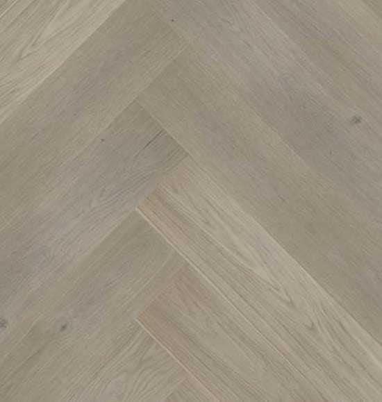 Click Herringbone Engineered Prime Grey Oak Flooring
