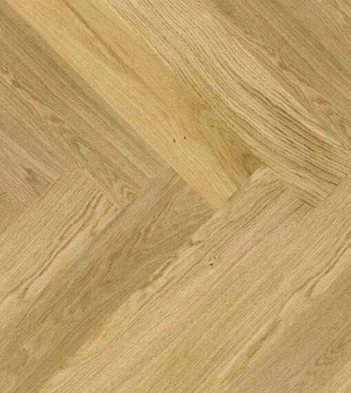 Click Herringbone Engineered Oak Flooring Brushed & Oiled hozbrad