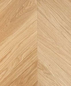 Atkinson & Kirby Barbican Engineered Chevron Parquet Oak Flooring Brushed & Oiled 900309